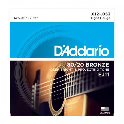D'addario Light 80/20 Bronze