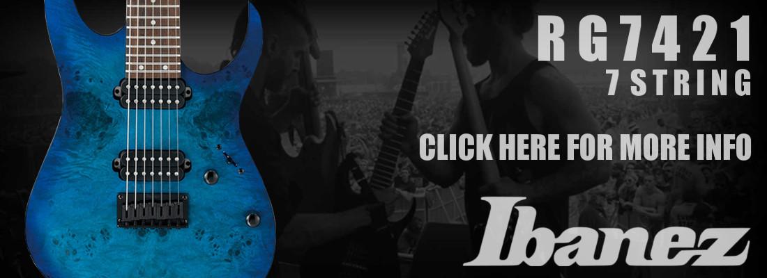 Ibanez RG7421 7 String Electric Guitar
