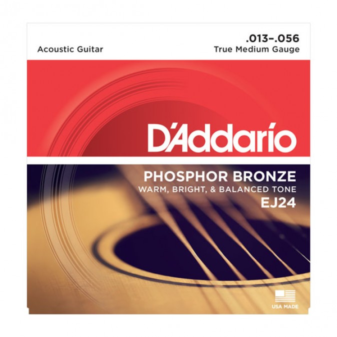 D'addario Medium Phosphor Bronze