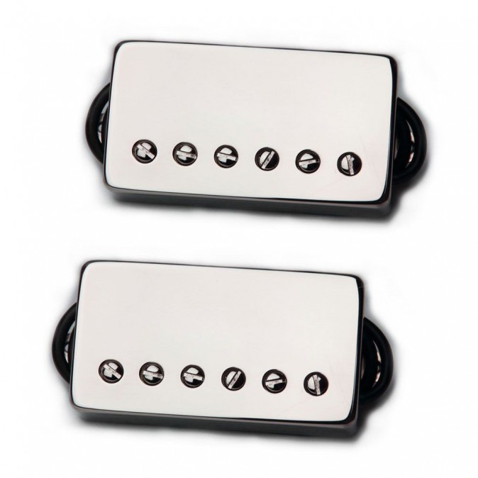 Bare Knuckle Boot Camp Old Guard Humbucker Set (50mm - Nickel Covered)