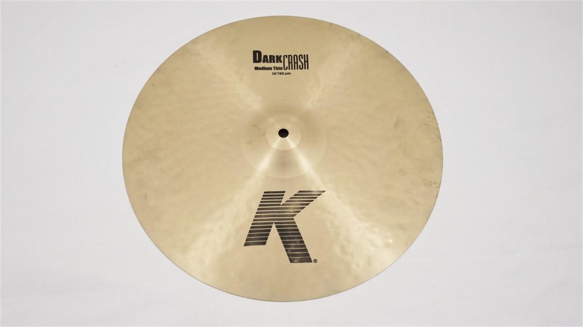 """Zildjian 16"""" K Dark Crash Medium Thin"""