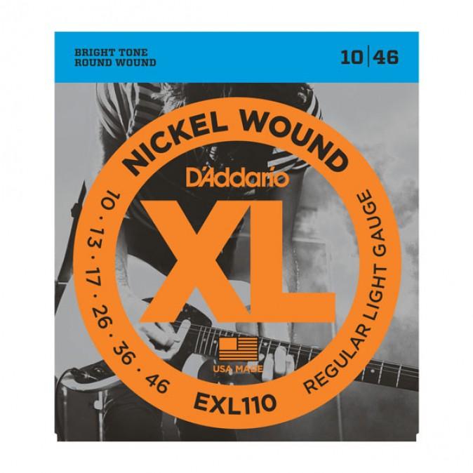 D'addario XL EXL110 Light Gauge