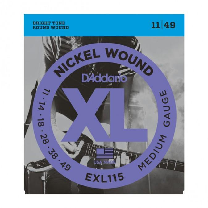 D'addario XL EXL115 Medium Gauge