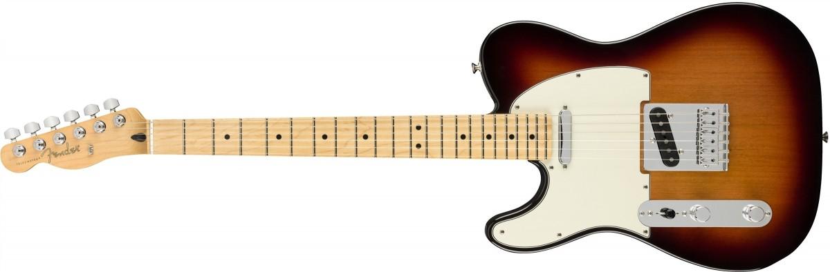 Fender Player Telecaster 3-Color Sunburst (Left-Handed)