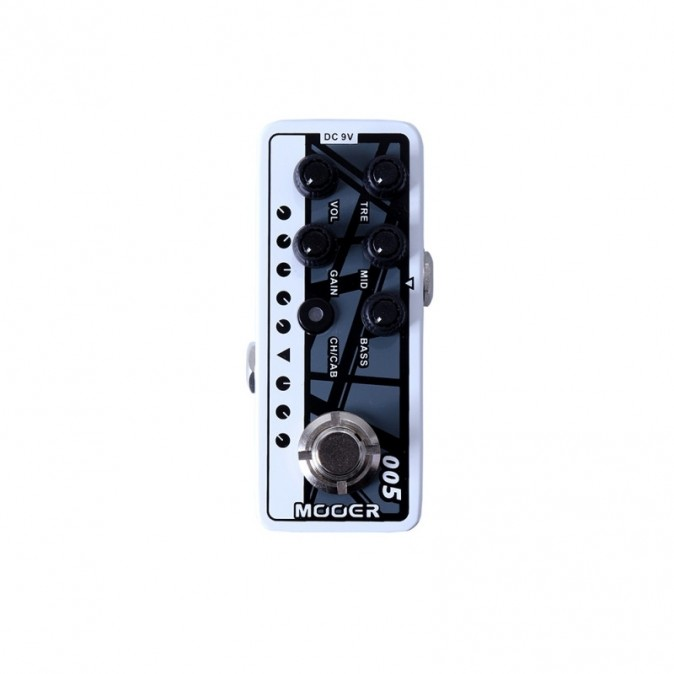 Mooer Micro Preamp 005 - Fifty-Fifty 3
