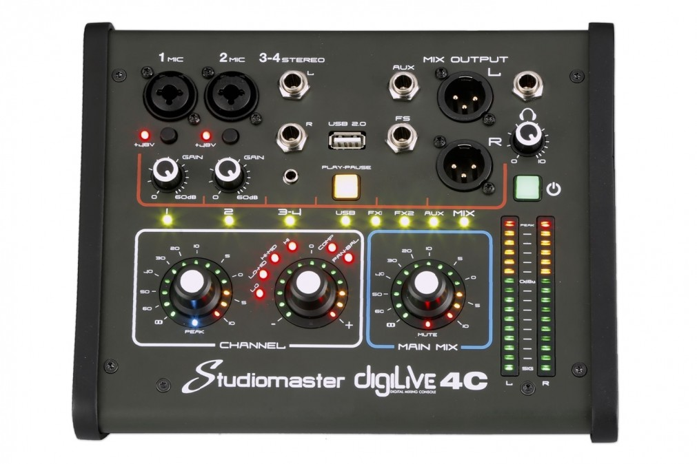Studiomaster Digilive 4C