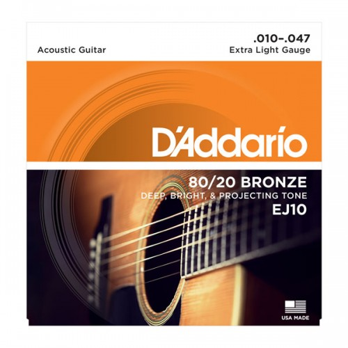 D'addario Extra Light 80/20 Bronze