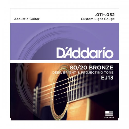 D'addario Custom Light 80/20 Bronze