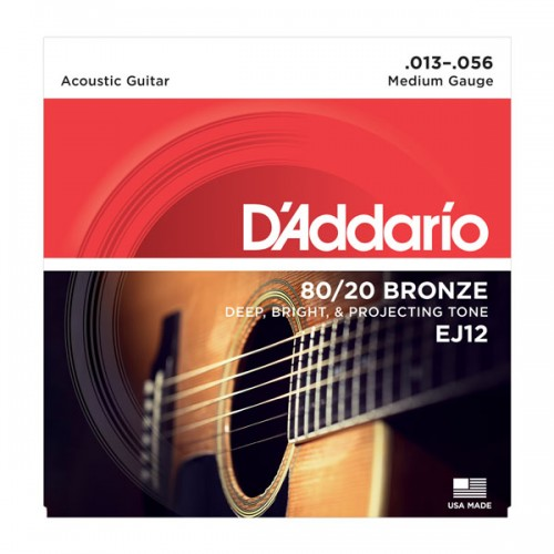 D'addario Medium 80/20 Bronze