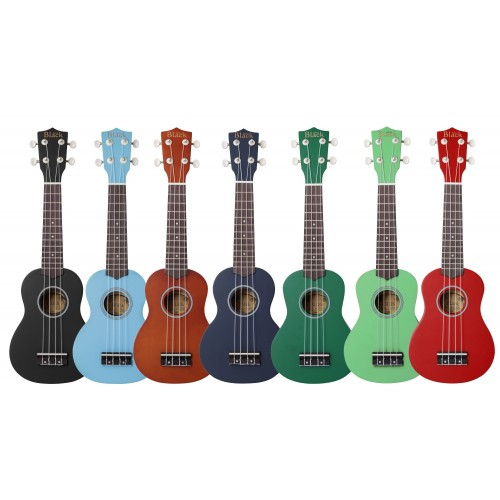 Adam Black UK20 Soprano Ukulele (Various colours available)