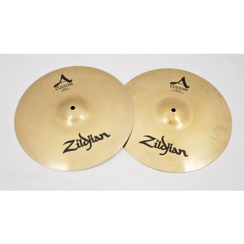 "Zildjian 14"" A Custom Hi Hats"