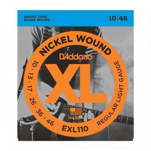 D'addario XL EXL110 Light Gauge