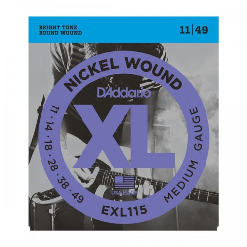 D'addario XL EXL115 Medium Gauge