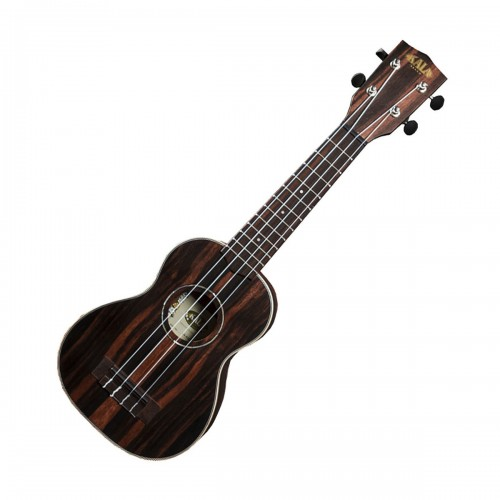 Kala KA-EBY-S Striped Ebony Soprano Uke