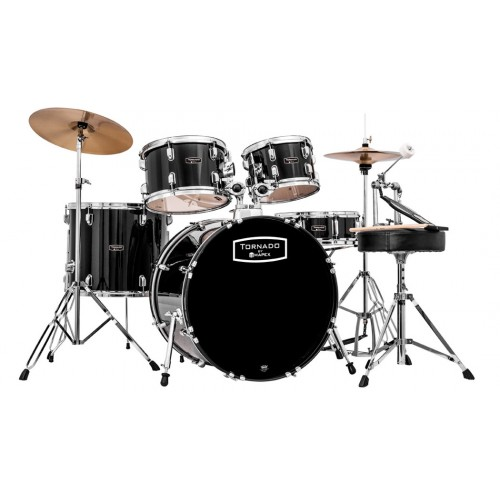 Mapex Tornado Rock Drum Kit - Black