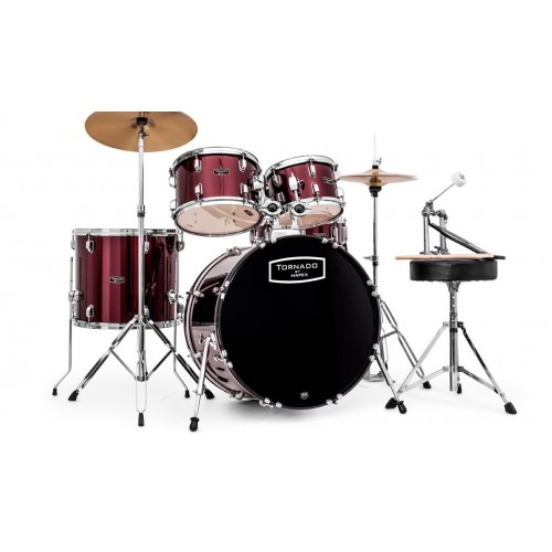 Mapex Tornado Rock Drum Kit - Red