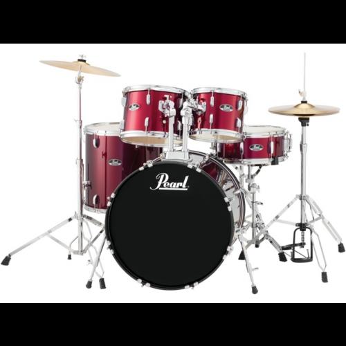 Pearl Roadshow (RS525SC/C91) Drum Kit (Wine Red)