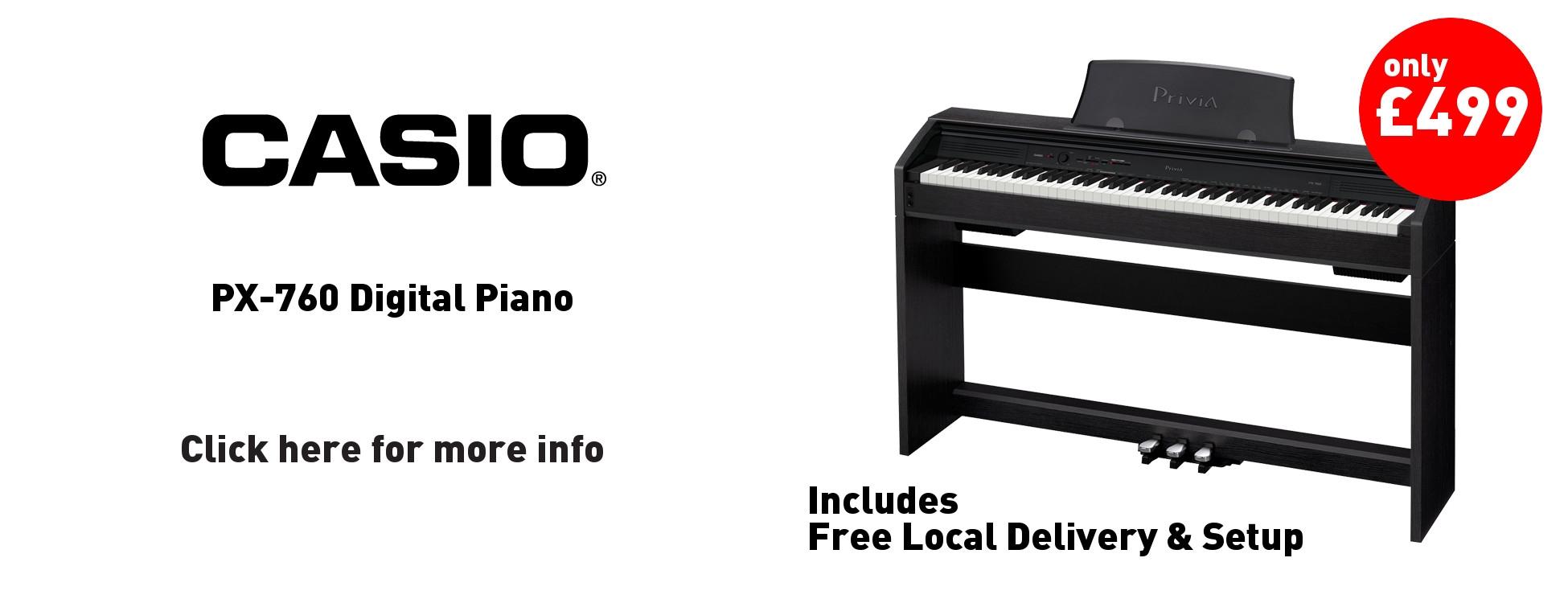 Casio PX-760 Digital Piano