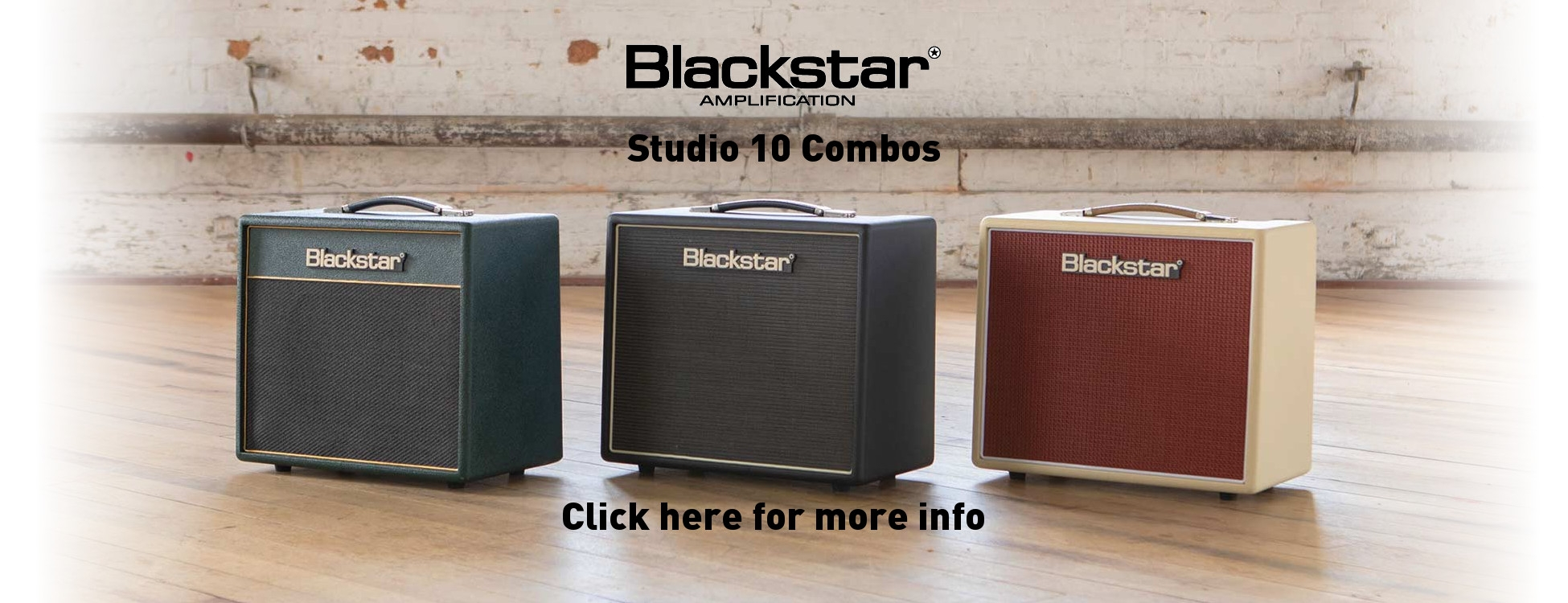 Blackstar Studio 10 Combo Amplifiers