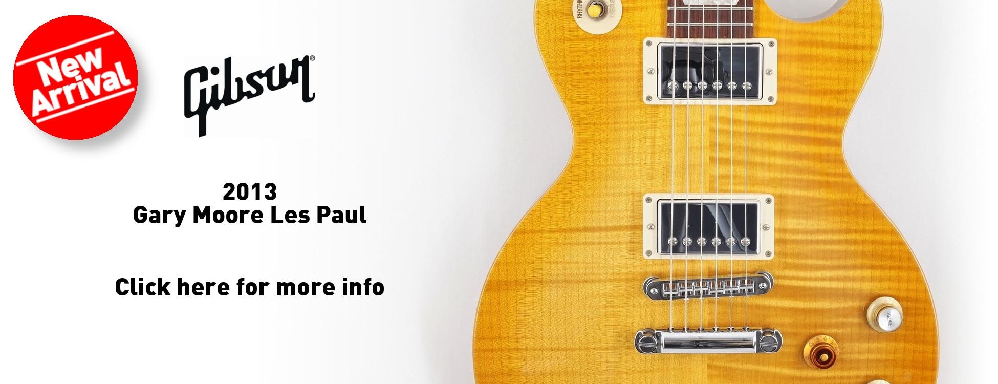 Gibson 2013 Gary Moore Les Paul