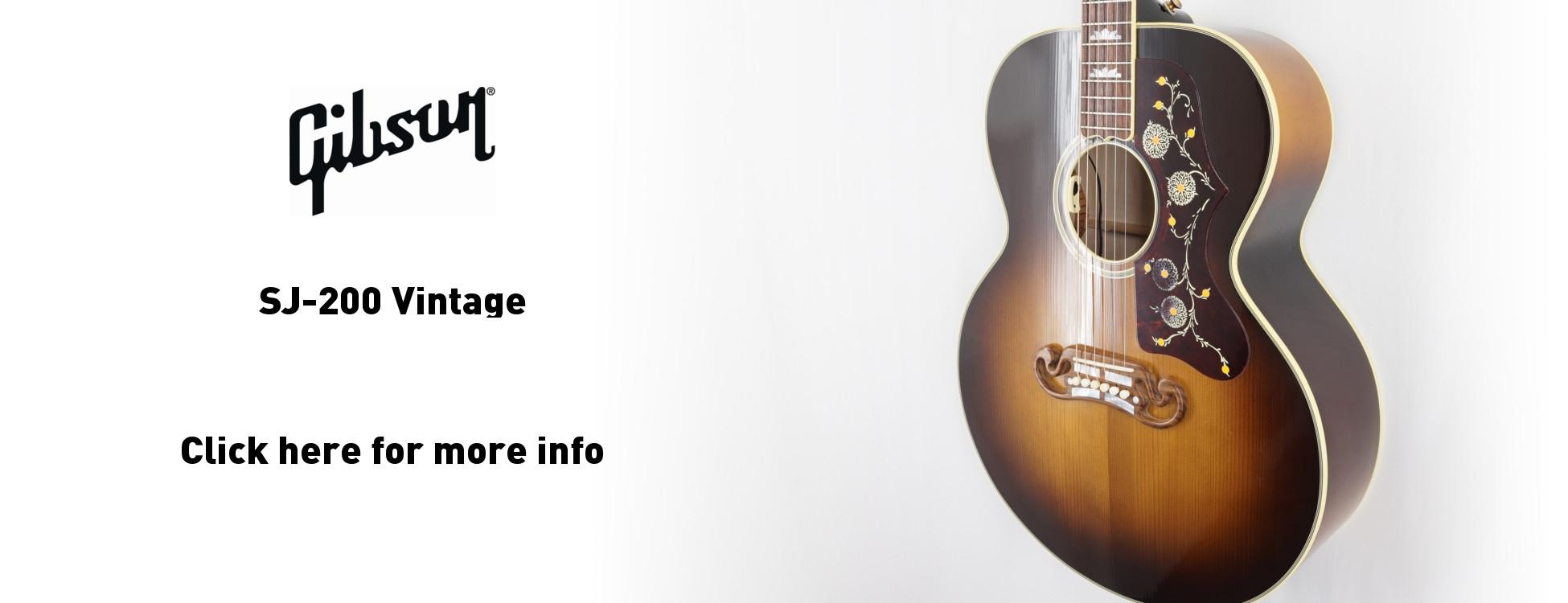 Gibson 2016 SJ-200 Vintage