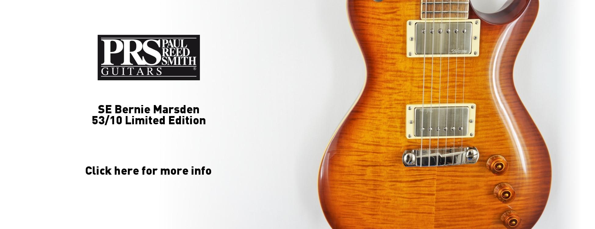 PRS SE Bernie Marsden 53/10 Limited Edition
